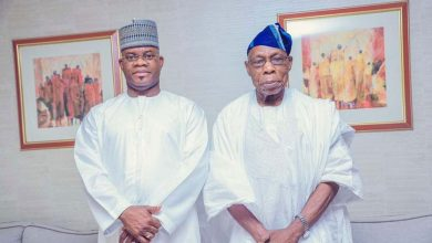Photo of Obasanjo lauds Kogi Bello for good governance, tackling insecurity