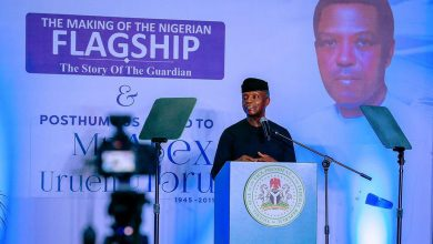 Photo of How The Guardian redefined media practice in Nigeria, by Osinbajo
