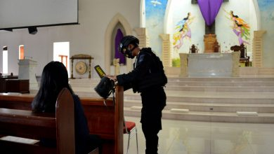 Photo of Heavy security at Indonesia churches for Easter